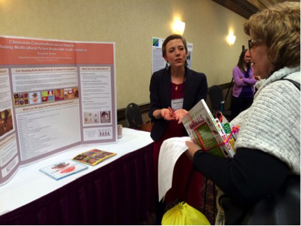 Maggie Beneke shares her research on classroom conversations during critical literacy experiences in early childhood.