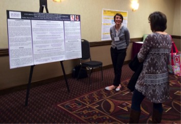 Emilee Morris explains her research on parents' perspectives  as young children transition between classrooms.